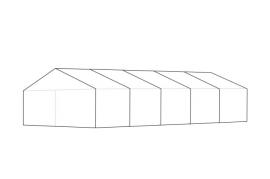 6 x 15 meter telt - ca. 72 til 92 personer