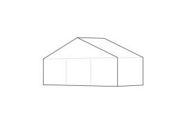 9 x 3 meter telt - ca. 24 til 30 personer