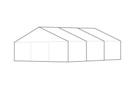 9 x 9 meter telt - ca. 64 til 82 personer