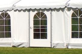 Rigtig dør til telt