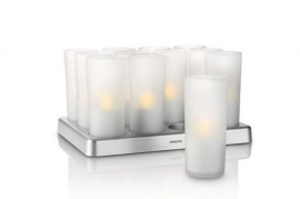 Candle-light lysestager