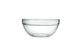 Glas-skål, 17 cm