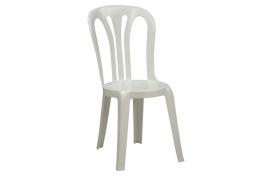 Plast Stabelstole (hvide)